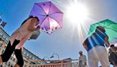2009年我国17省高温天气