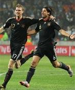 赫迪拉帮助德国队反超