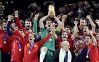 西班牙,我们是冠军!