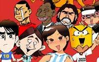 嘻哈世界杯,漫画