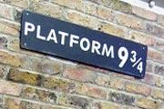 哈利波特里著名的九又四分之三车站