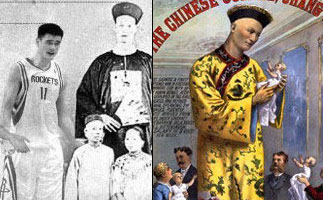 曝中国历史第一巨人超出姚明93厘米