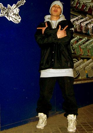 男生夹克嘻哈手绘