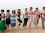 沙滩美女大聚会