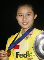 王琳,羽毛球世锦赛