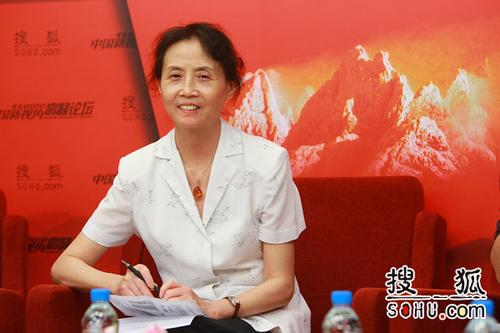 中国社科院经济所研究员、社科院金融所研究中心副主任汪利娜(搜狐-王玉玺/摄)