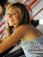 美女球迷,2010羽毛球世锦赛