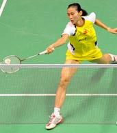 王仪涵,2010羽毛球世锦赛