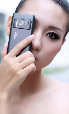 小米手机广告模特