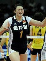 李娟,2010世界女排大奖赛总决赛