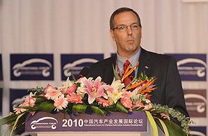 福特汽车副总裁,福特(中国)董事长兼CEO 葛致诺