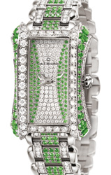 宝齐莱Alacria Royal限量绿宝石腕表翡翠碧绿 延续帝王风范