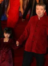 文隽带女儿走红毯
