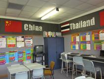 南岛女子中学教室