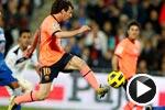 梅西传射皮克手球染红 巴萨3-1胜赫塔菲