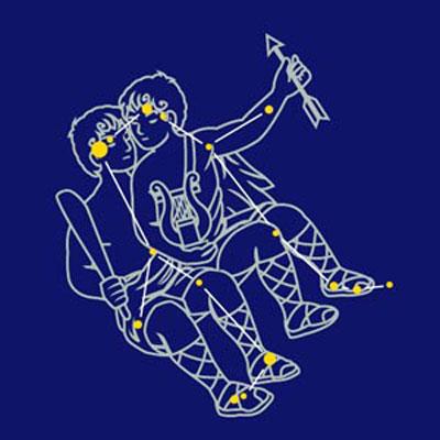 太阳星座是双子座,月亮星座是射手座,上升星座是水瓶座的人性格是什么