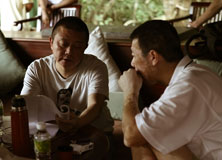 《非诚勿扰2》探班-王朔冯小刚讨论