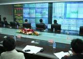 北京市交管局指挥中心显示屏