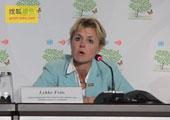 直击坎昆气候大会:韩国的发布会场面冷清