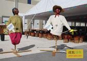 直击坎昆气候大会:NGO在坎昆气候大会场外的宣传道具