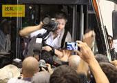 直击坎昆气候大会:谈判最后一日:国外NGO、记者与当地警察起冲突