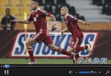 视频集锦-铁卫将功补过终场救主 日本1-1平约旦