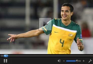 视频集锦-卡希尔梅开二度 澳大利亚4-0狂屠印度