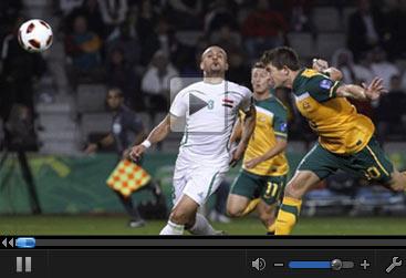 视频集锦-科威尔加时赛送绝杀 澳大利亚1-0伊拉克