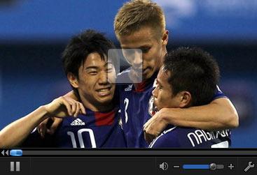 视频集锦-点球大战韩国3罚全丢 日本5-2进决赛