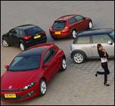 对比体验选爱车 30万级四种女性购车之选