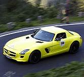 电动超跑4秒破百 首试奔驰SLS AMG电动车
