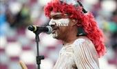 土著舞蹈裸身油彩超犀利