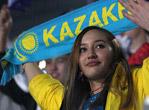 哈萨克斯坦美女观众