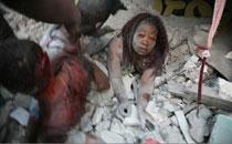 二等奖:海地地震中的妇女
