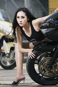上海车展美女车模