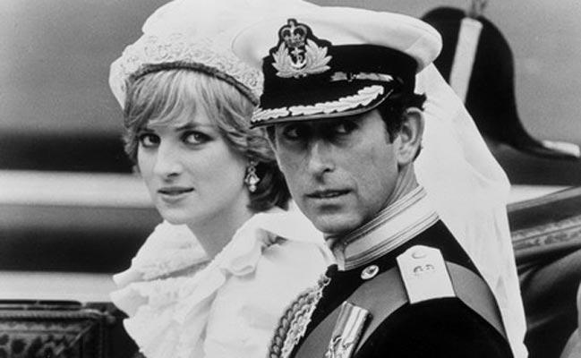 查尔斯王子+戴安娜王妃
