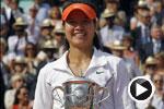 李娜获法网冠军成亚洲第一 国歌响彻罗兰加洛斯
