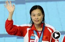 视频-吴敏霞家乡3米板封后 首夺世锦赛单人金牌