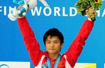 邱波飙16个满分夺冠 世锦赛中国首次跳水大满贯