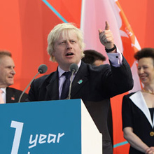 伦敦奥运会倒计时一周年