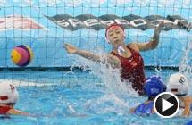 视频-中国女子水球8-9惜败 世锦赛摘银仍创历史