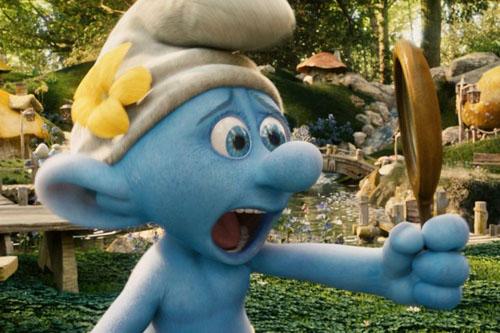 蓝精灵/可爱的蓝精灵在大森林里快乐的生活,可是巫师格格巫和阿兹猫总...