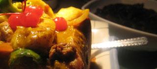 咖喱牛柳方盒