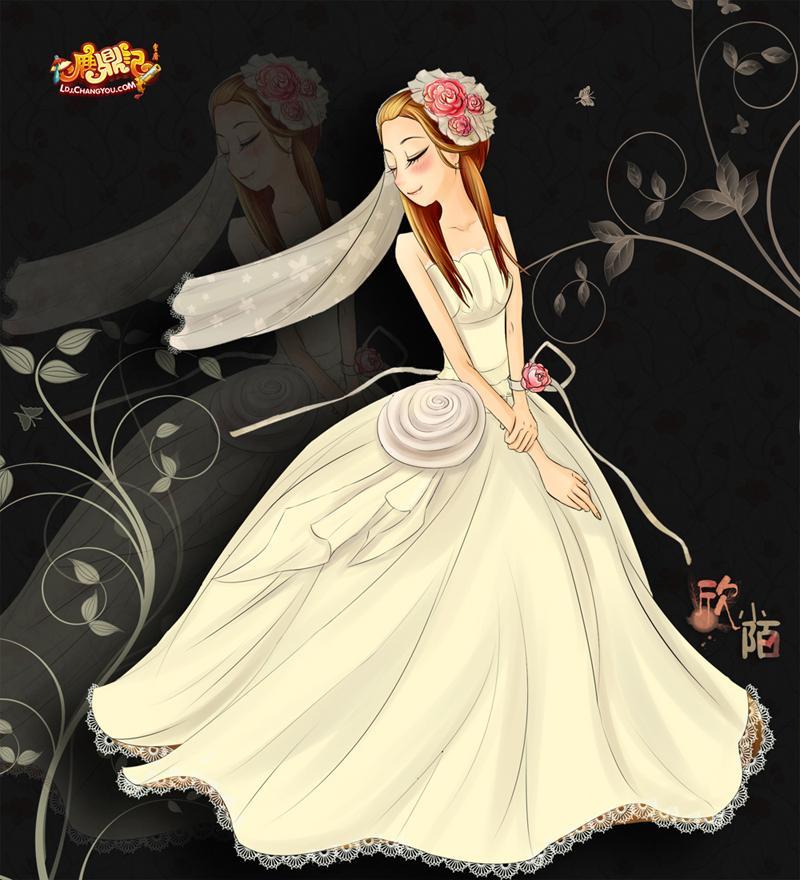 手绘新郎新娘简笔画内容图片展示_手绘新郎新娘简