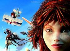 《亚瑟3》角色海报-赛琳娜