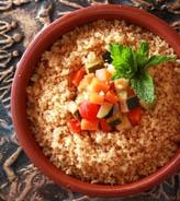 中东小米加杂菜