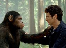 男主人公和猿类凯撒情谊深厚