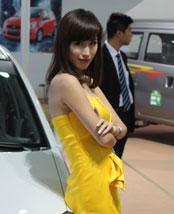 南昌车展车模