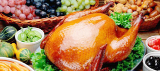 美国火鸡美食餐厅