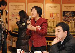 学生家长代表现场提问交流